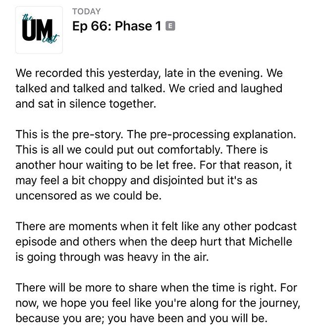 We got online last night to talk about real life for a bit. ♥️ It's all real life, of course, but sometimes life feels real to the max, like real times infinity. This is one of those times. #phase1 #theumclub