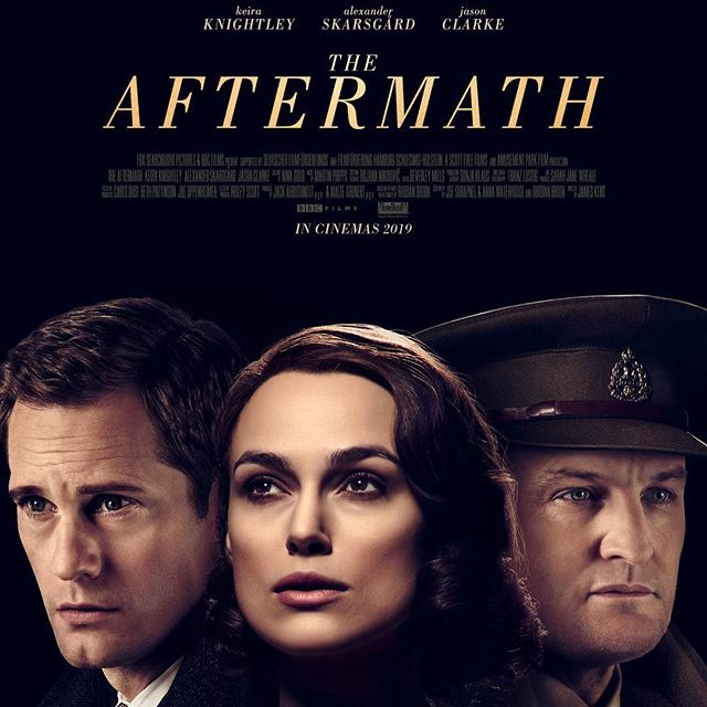 "We Googled ""The Aftermath"" to find an image for today's new episode and this was the first thing that popped up. So let's pretend Keira Knightley is Michelle, Alexander Skarsgard is ""normal life"" and Jason Clarke is ""life through a loss."" Today we talk about living with both in episode 67: Phase 2, The Aftermath."