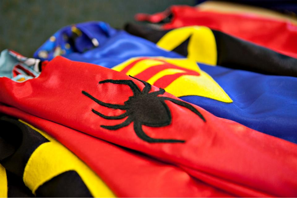 Capes4Heroes    Bringing Capes to Heroes, Big and Small    Donate Today