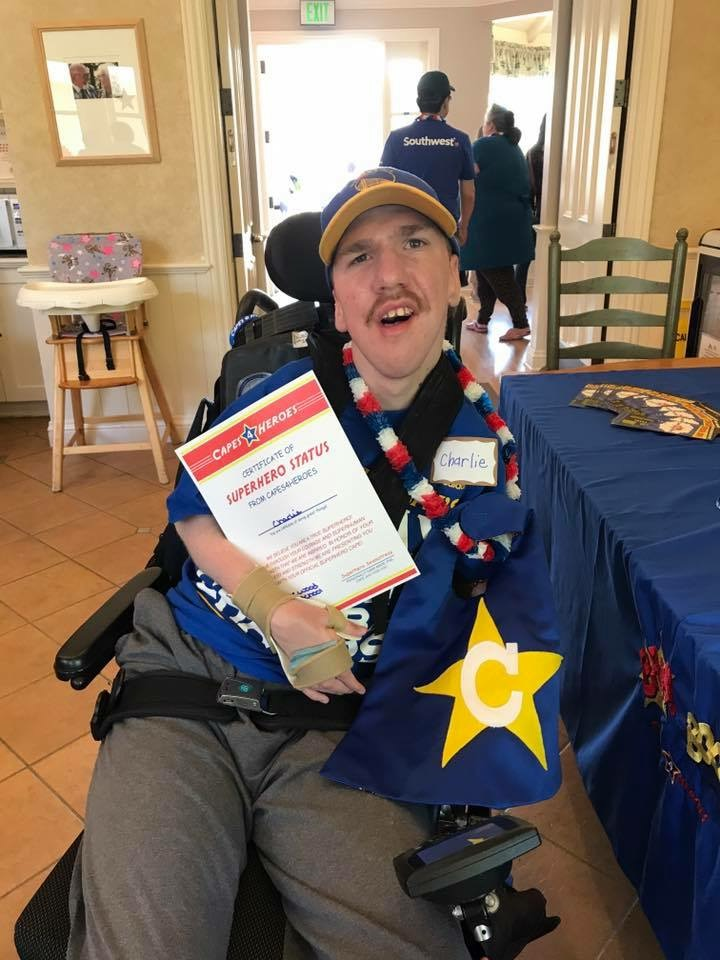 Capes4Heroes Visit - 2018 George Mark Children's House