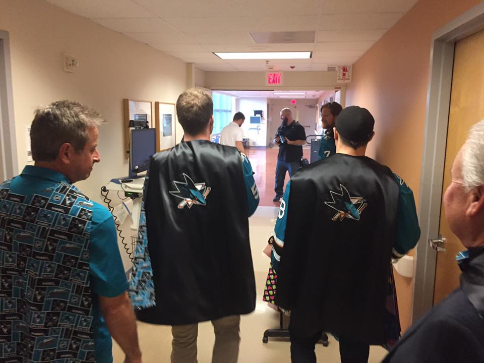 Capes4Heroes Visit - 2017 Children of Kaiser Permanente Santa Clara Visit