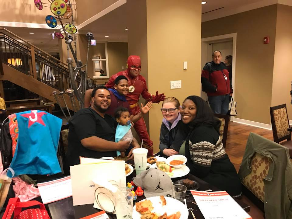 Capes4Heroes Visit - 2018 RMHC Chicago and Northwest Indiana