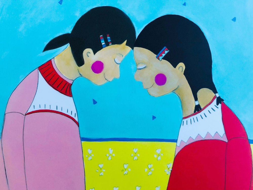 YOU HOLD ME UP (Monique Gray Smith, Danielle Daniel, Orca Book Publishers)