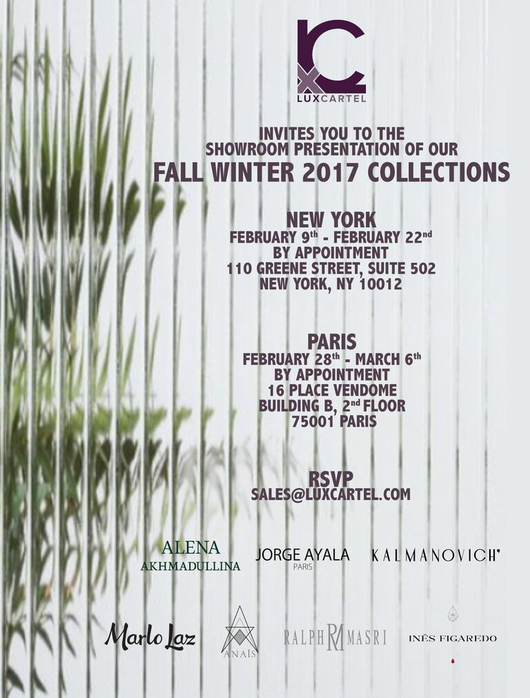 Fashion Week Fall Winter '17 Invitation.jpg