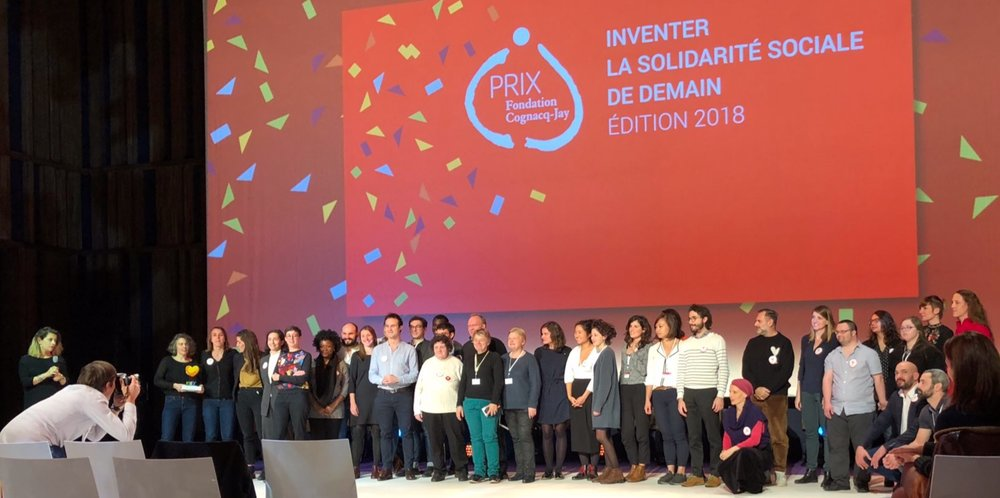Prix des professionnels & Lauréat Vision 2018 du Prix de la  Fondation Cognacq-Jay