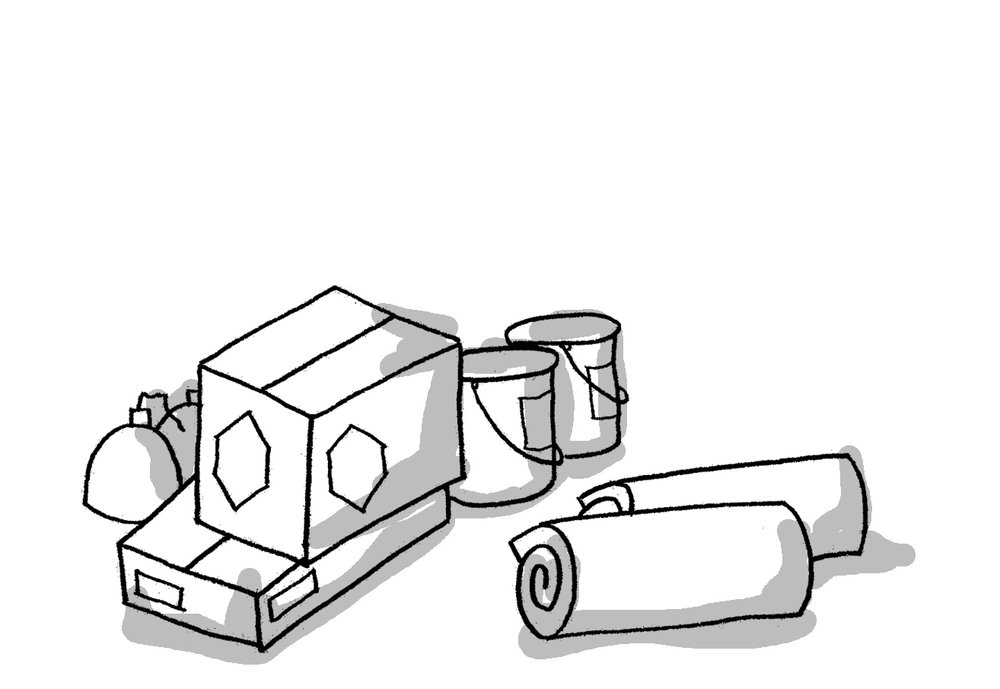 matériaux - Définition d'un déchet selon le code de l'environnement :« toute substance ou tout objet, ou plus généralement tout bien meuble, dont le détenteur se défait ou dont il a l'intention ou l'obligation de se défaire »FAIRE AVEC fait de la prévention, c'est-à-dire que l'association inscrit sa démarche dans les « mesures prises avant qu'une substance, une matière ou un produit ne devienne un déchet ».