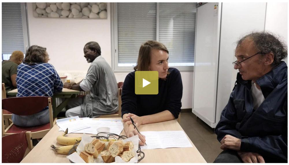 La vidéo d' Axel Lebruman  pour la Fondation Cognacq-Jay