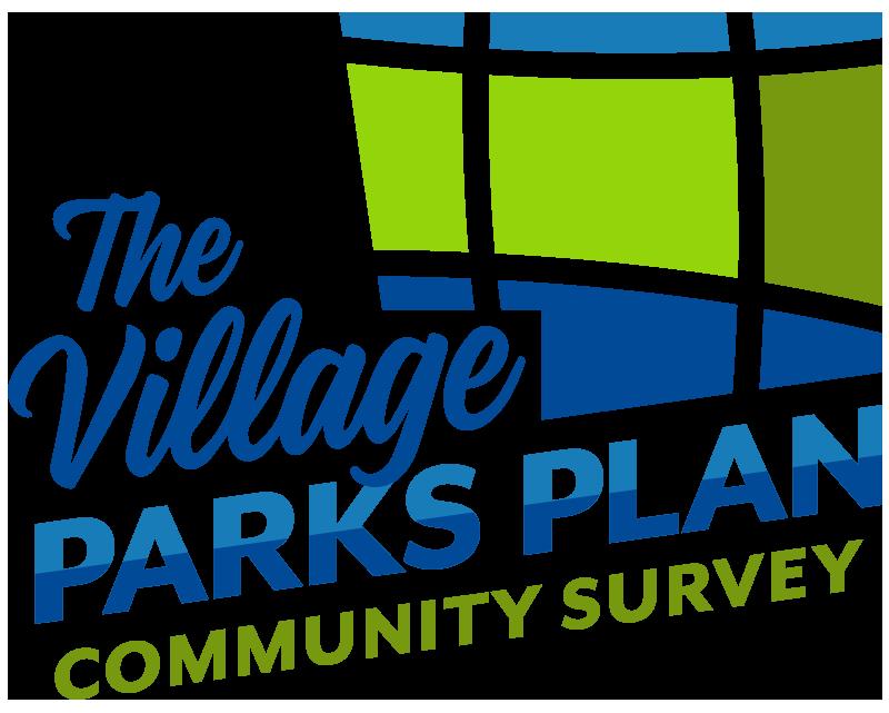 The Village Parks Plan Community Survey Logo.png