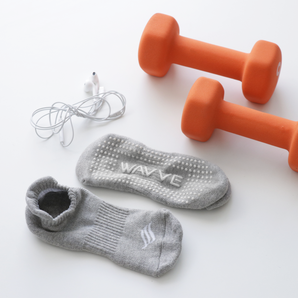 The Active Sock (Grey)   2 Pack - $12.99