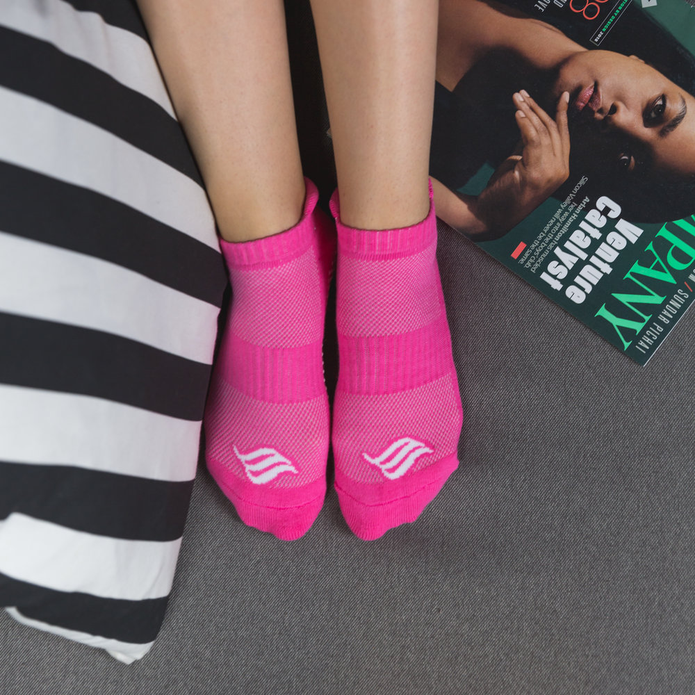 The Active Sock (Pink)   2 Pack - $12.99