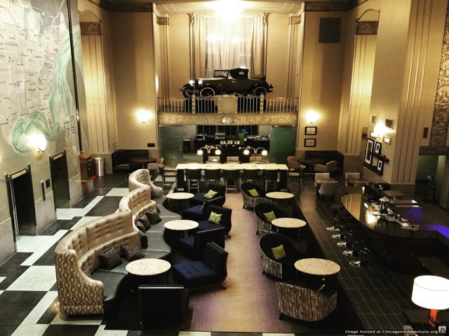 Hampton Inn at the Chicago Motor Club - Chicago Art Deco Society | 2015 Joseph Loundy Preservation Award