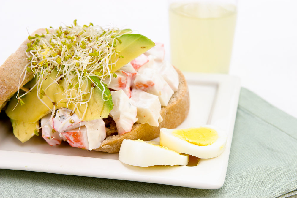 Alfalfa Salad Sandwich -