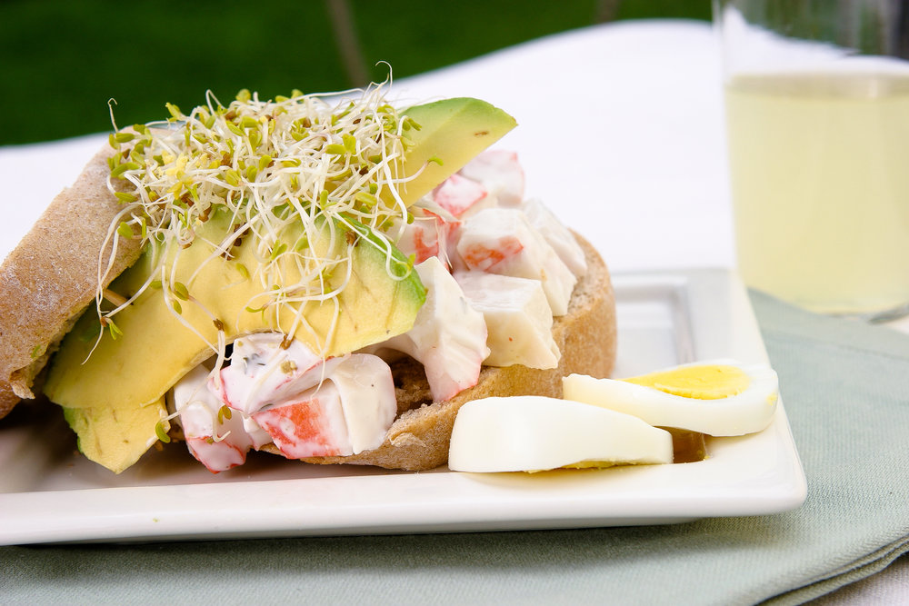 Alfalfa Sprout Sandwich