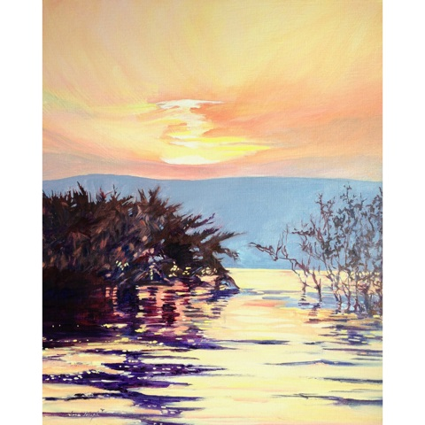 Title: Sunrise Over the Galilee