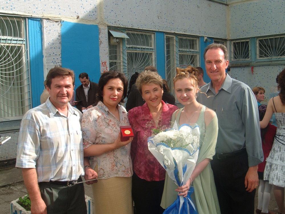 Valedictorian Dina