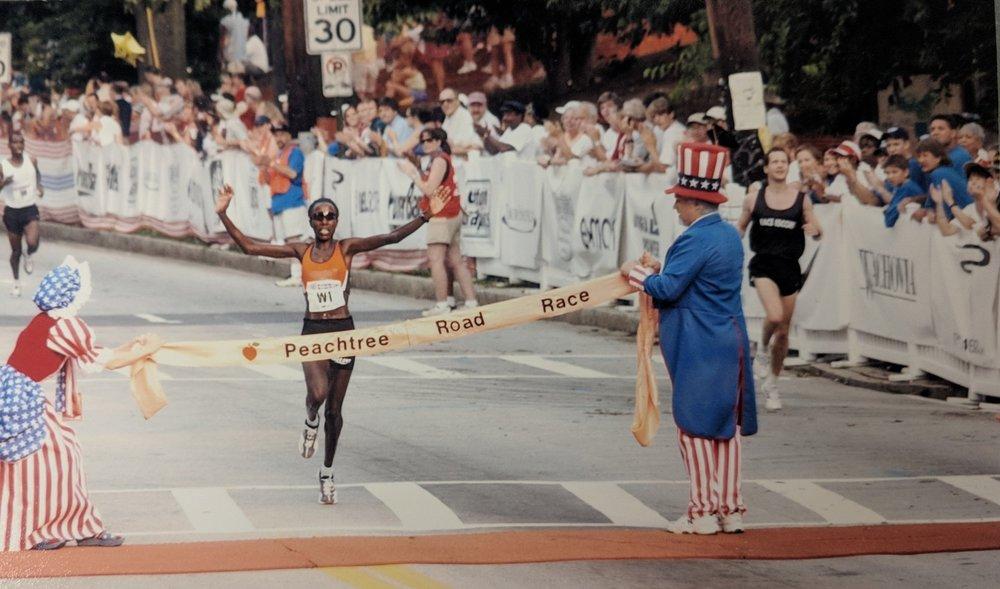 Lornah Kiplagat's 2002 victory