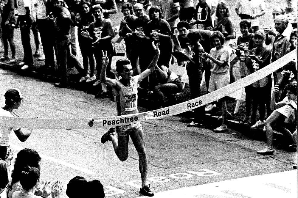Craig Virgin winning in 1981