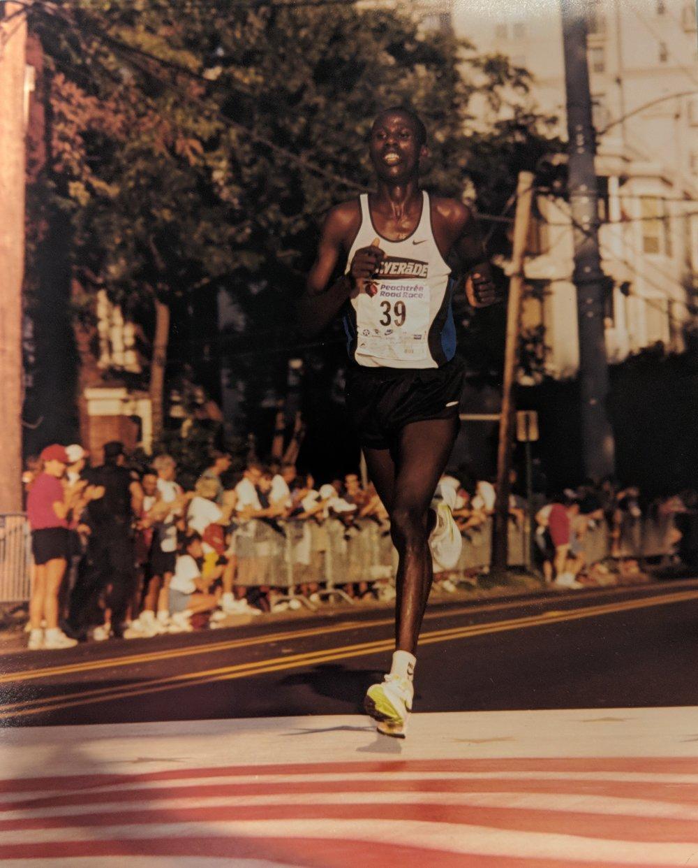 Joseph Kimani's record-breaking win