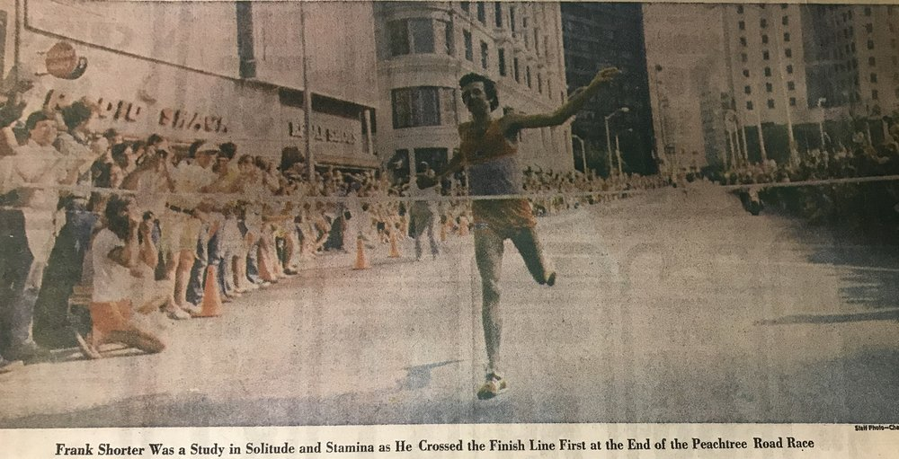 A clipping from the 1977 Atlanta Journal-Constitution