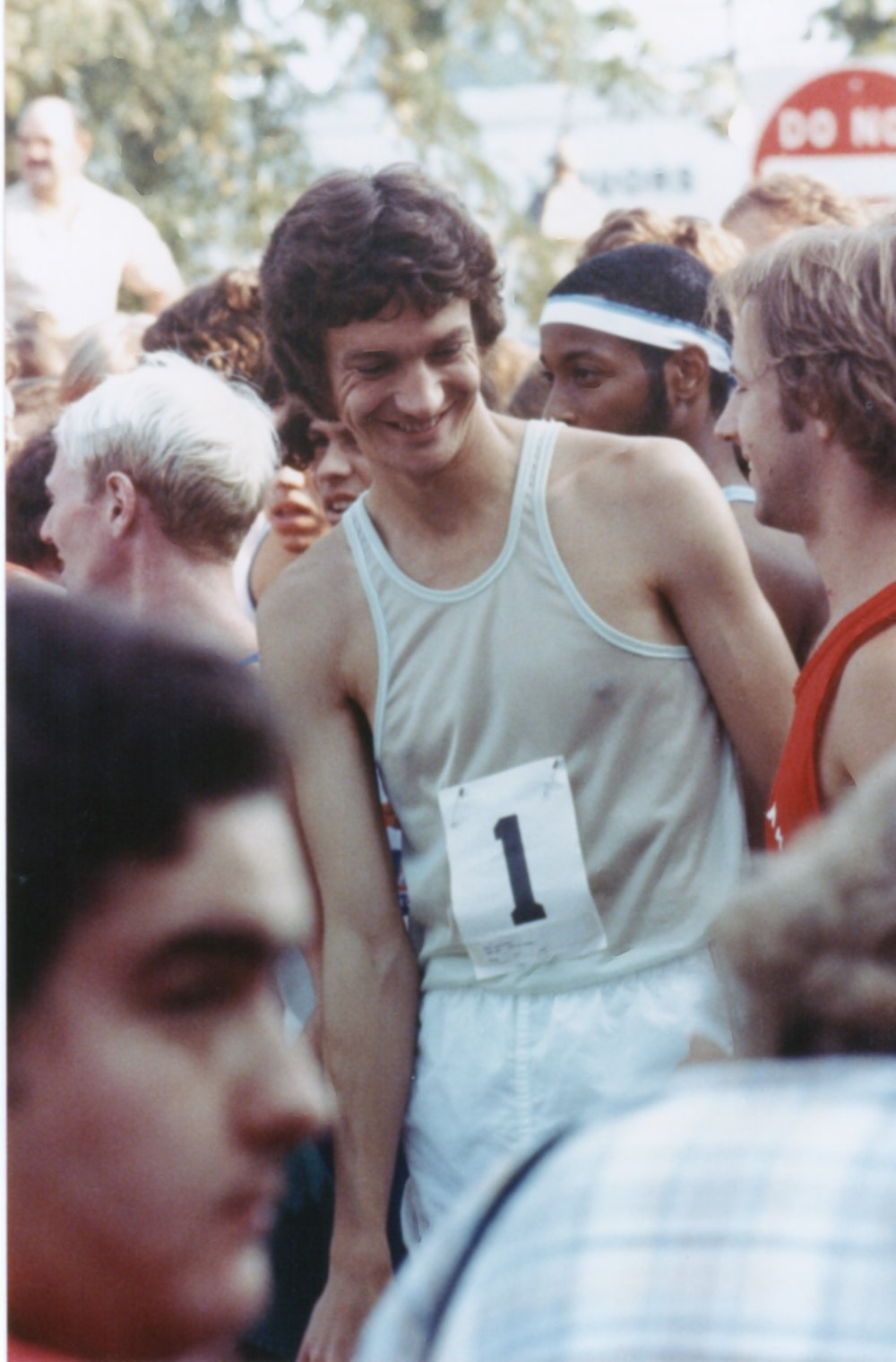 """Defending champion Don Kardong arrived on the start line of the 1977 AJC Peachtree Road Race wearing bib number """"1"""". He would finish 3rd and the Peachtree would inspire him to start the Lilac Bloomsday 12K. He will retire as race director this year."""