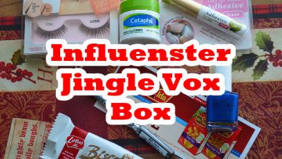 Influenster Jingle Vox Box