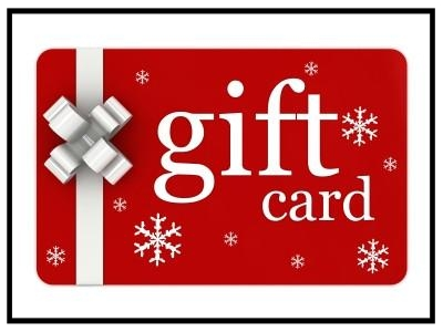Gift Card - Purchase a gift card to give as a gift this holiday season!
