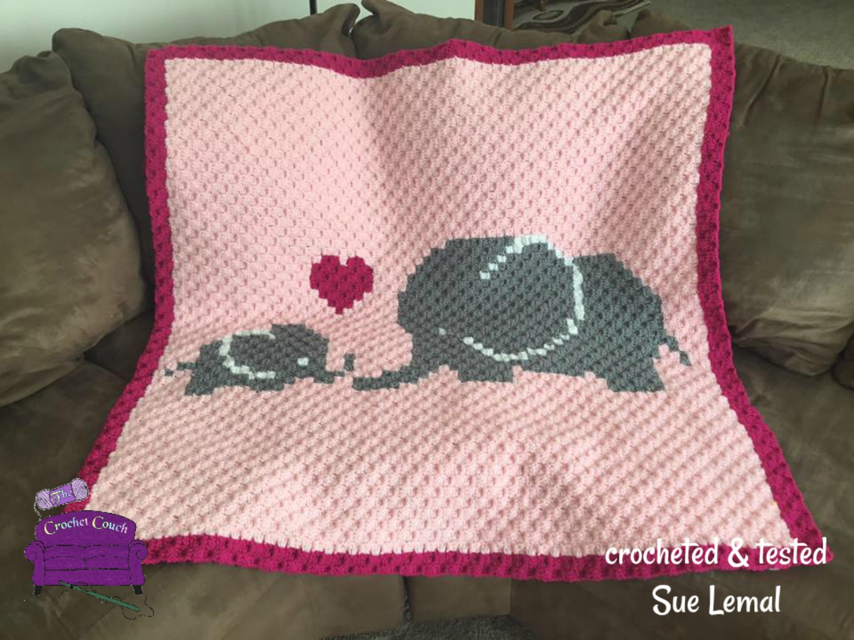 Elephant Pillow Crochet Pattern Josefina And Jeffery | The WHOot | 1125x1500