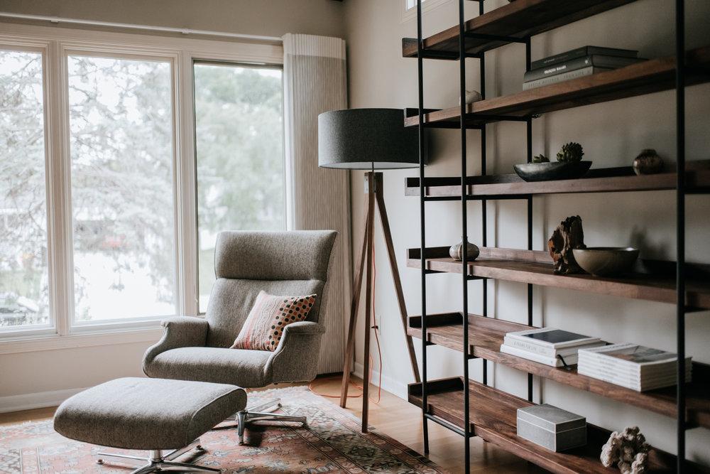 Edina Midcentury Modern Interior Design