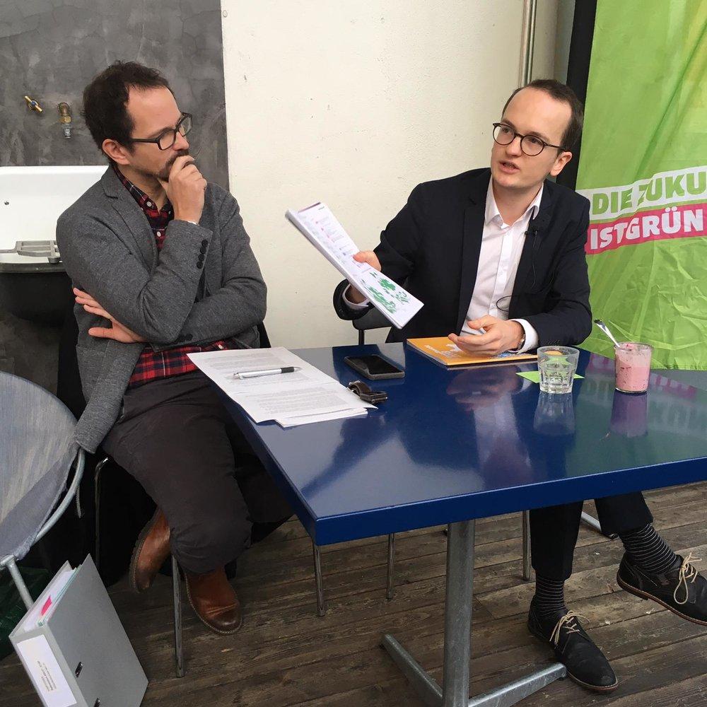 Grün-Talk, 8.12.18, Bild: Ulla Blume