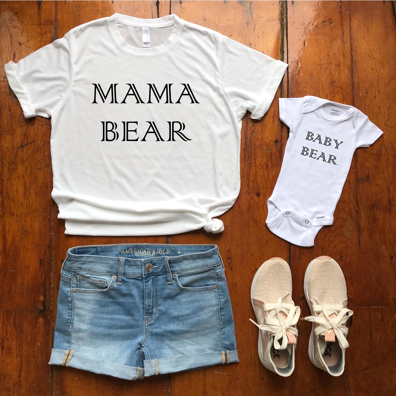 ffd52465b Mama Bear + Baby Bear — MERRY MAKER SHOP