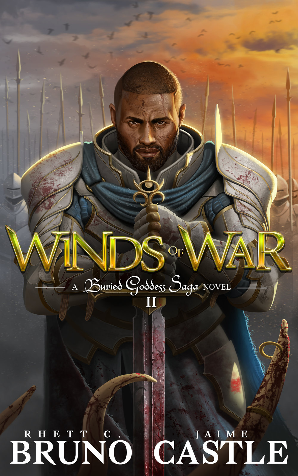 Winds of War   Buried Goddess Saga Book 2  Rhett C. Bruno & Jaime Castle