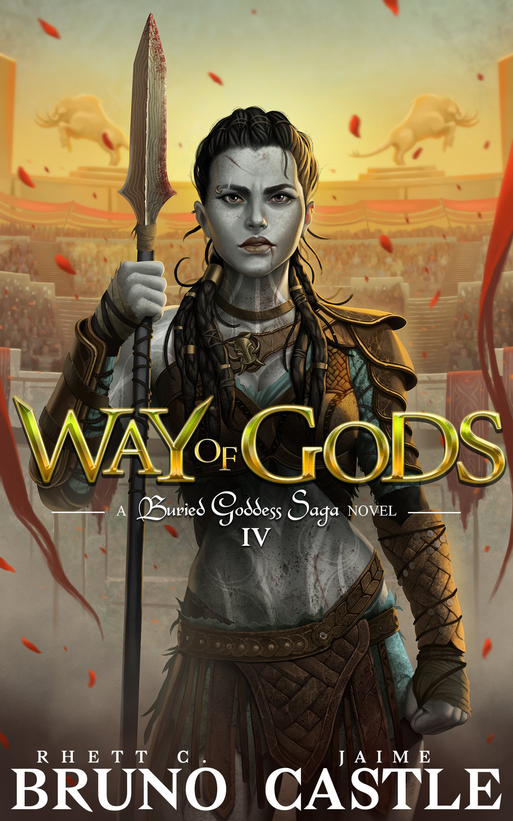 Way of Gods   Buried Goddess Saga Book 4  Rhett C. Bruno & Jaime Castle