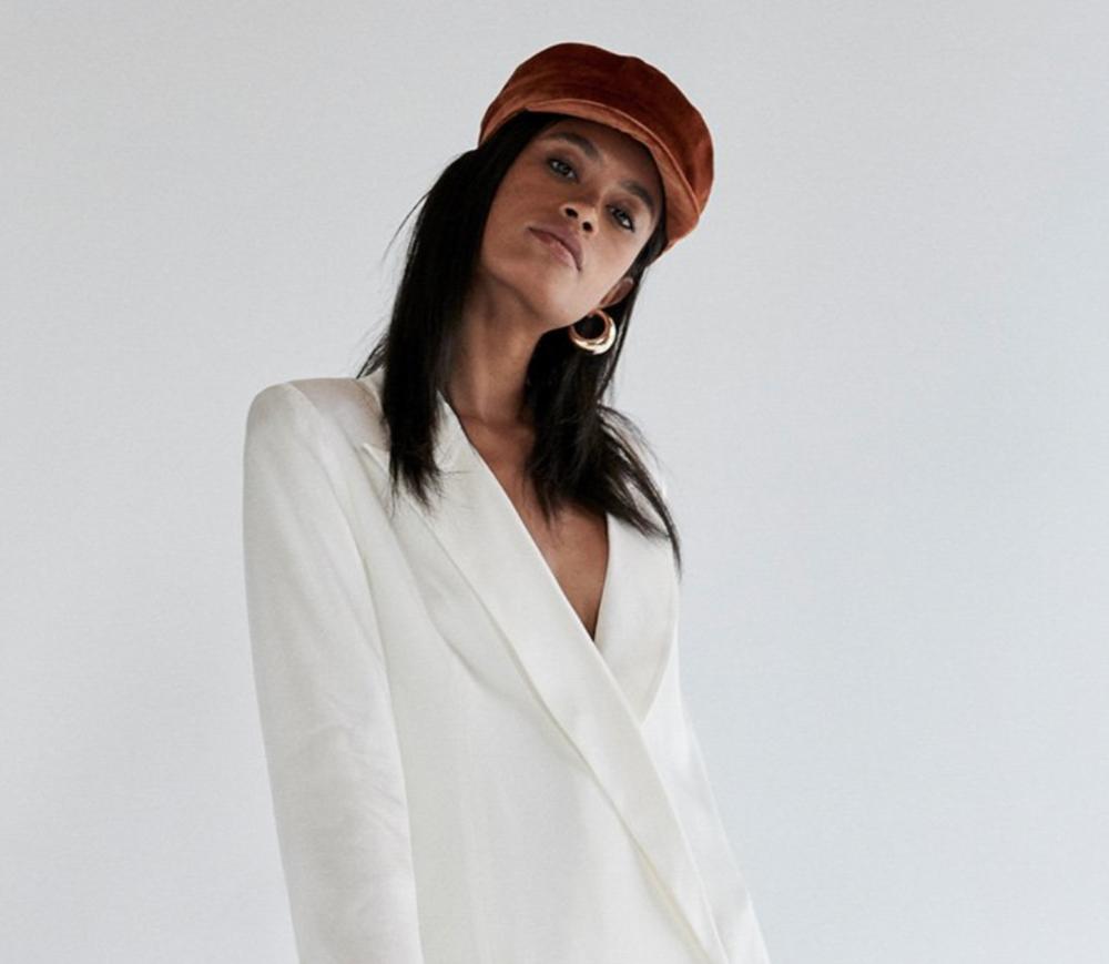 Janessa Leone - Mattie Cap in Rust, $260