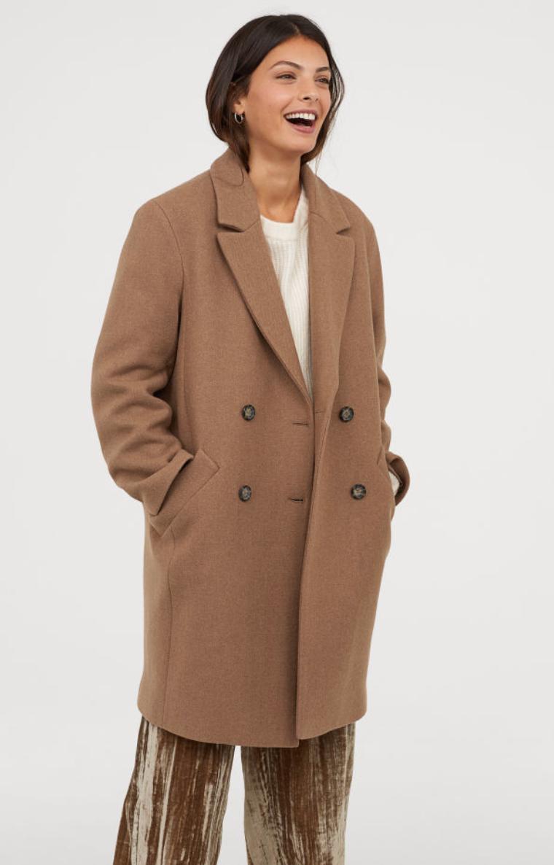 H&M - Wool Coat, $99