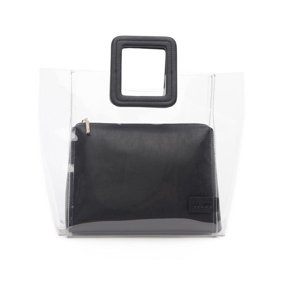 STAUD - Shirley Bag in Black, $210.
