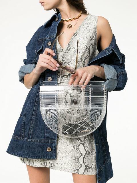 CULT GAIA - Clear Ark Tote Bag, $226.