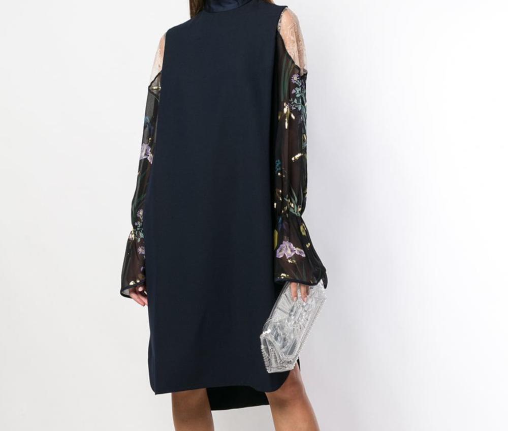 MAME - See-Through Clutch Bag, $320.