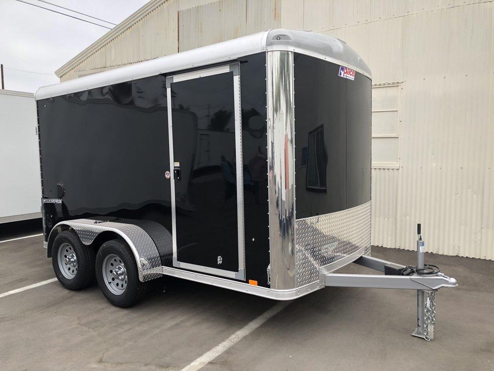 6x12 Tandem Pace Cargo Sport - Side Door/Ramp Door