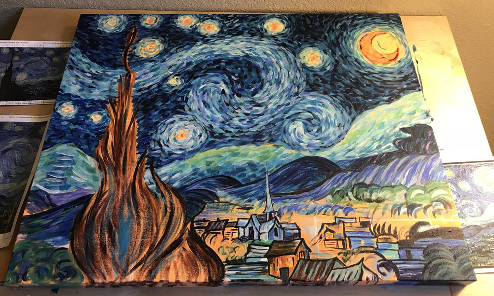 Starry Night - In Progress