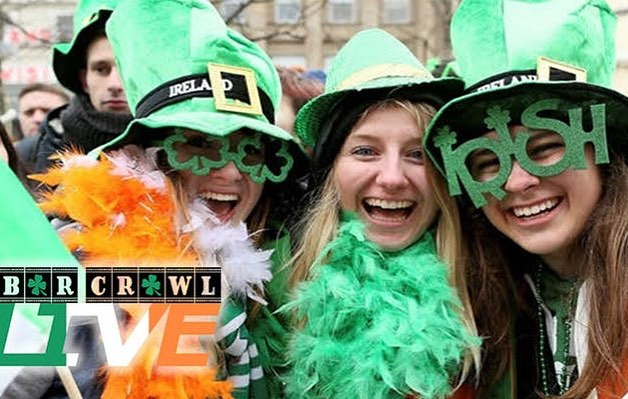 ☀️beautiful weekend to get lucky 🍀 See you this Saturday & Sunday for St. Patrick's Day bar crawls 🍻 Drink and food packages available! Message us for deets