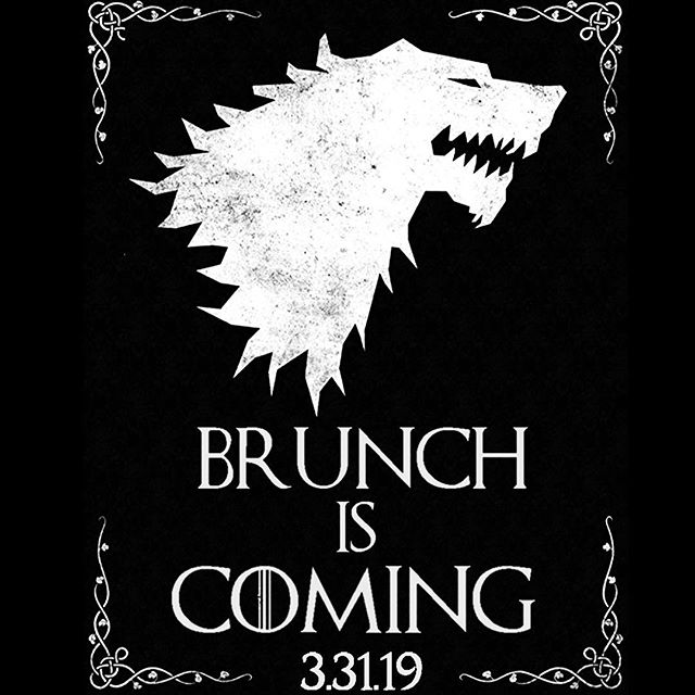 BRACE YOURSELF🐉BRUNCH IS COMING! Bottomless mimosas, bloodies, and GOT TRIVIA THEMED FUN‼️link in bio to rsvp! • • #gameofthronesphilly #brunch #brunchiscoming #brunchphilly #brunchszn