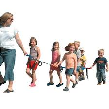 Large group? Use a walking rope!