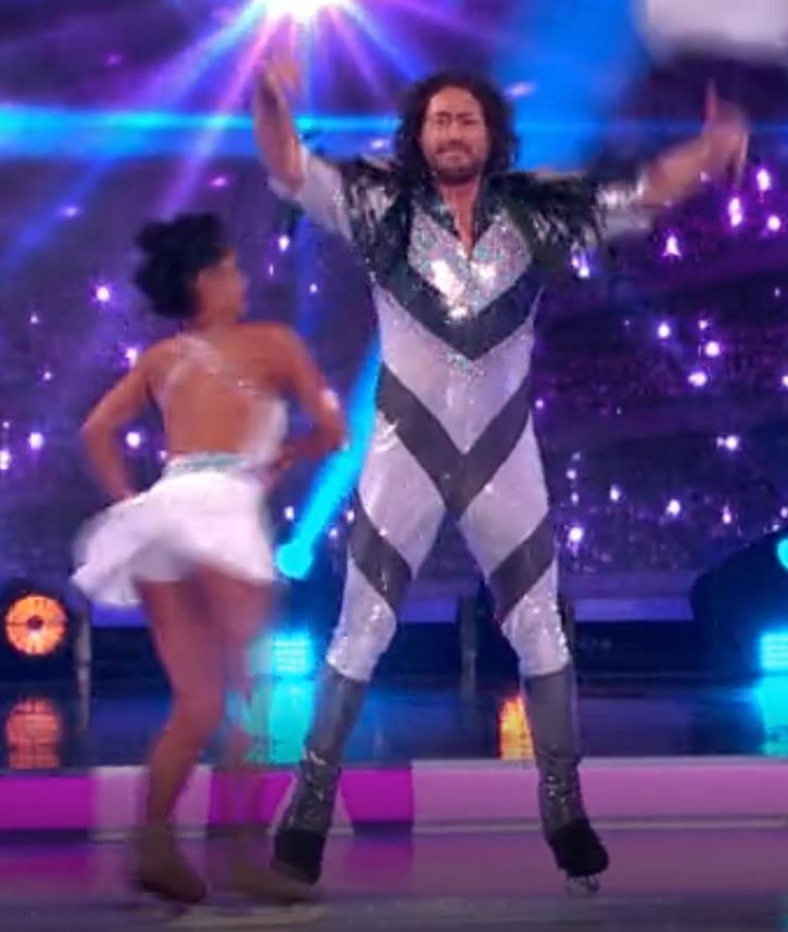 Ryan Sidebottom & Brandee Malto,  Dancing On Ice  2019