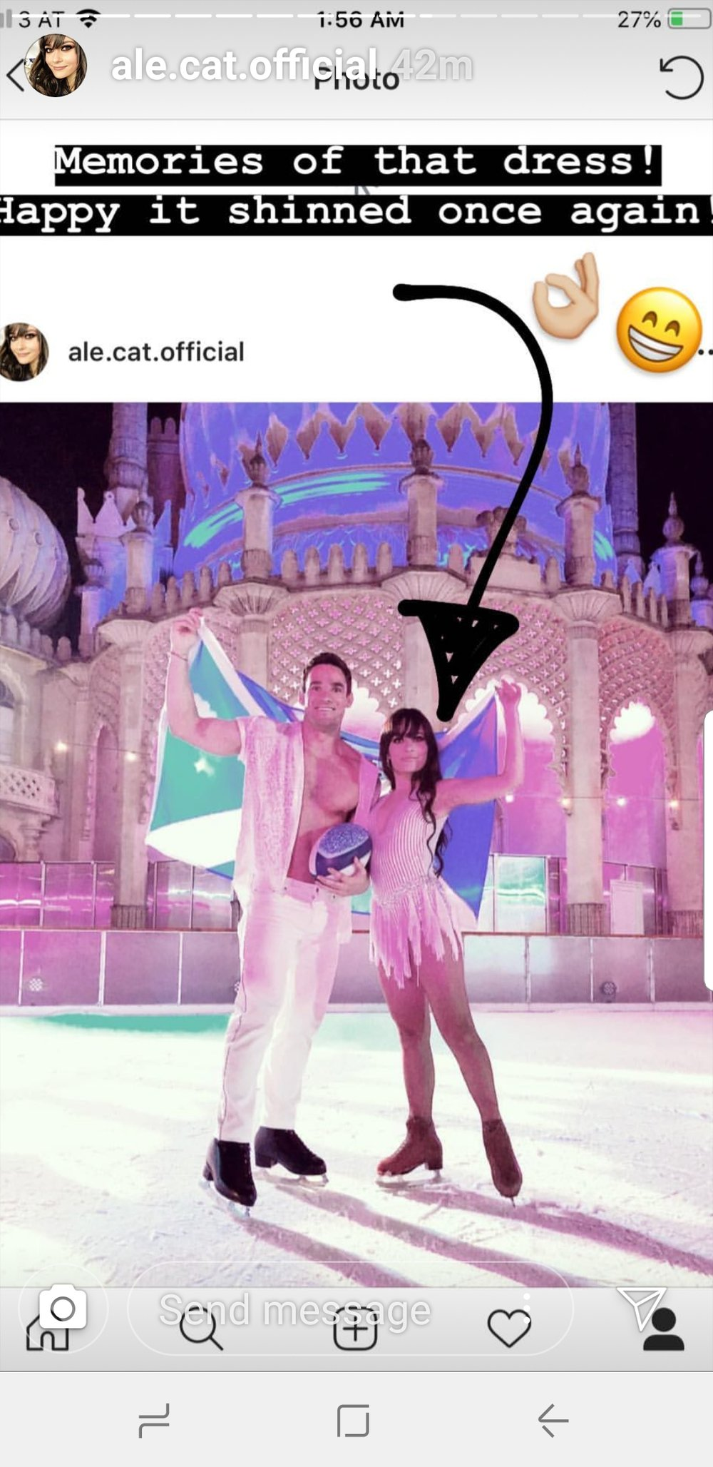 Ale Izquierdo Max Evans Dancing On Ice