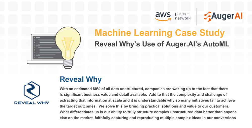 Auger.AI & RevealWhy Case Study