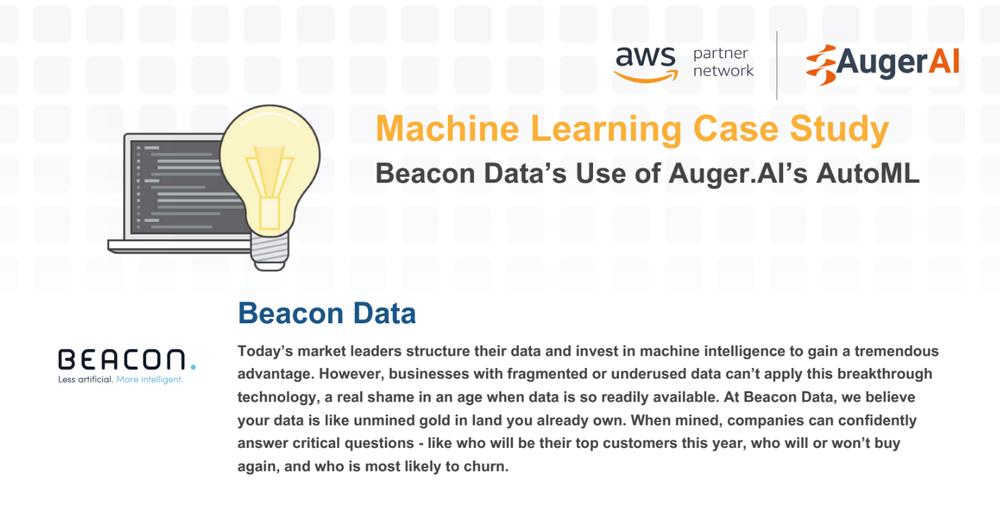 Auger.Ai & Beacon Data Case Study