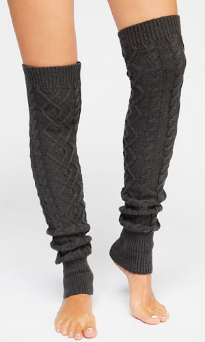 Free People At Your Side Cable Legwarmer