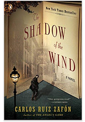 The Shadow of the Wind, by Carols Ruiz Zafón