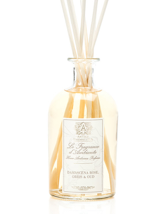 Antica Farmacista's Damascena Rose, Orris, & Oud Reed Diffuser