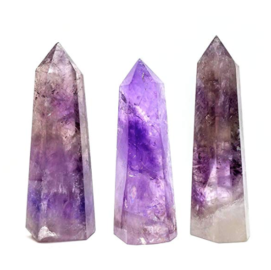 Amethyst Quartz Crystal Tower .png